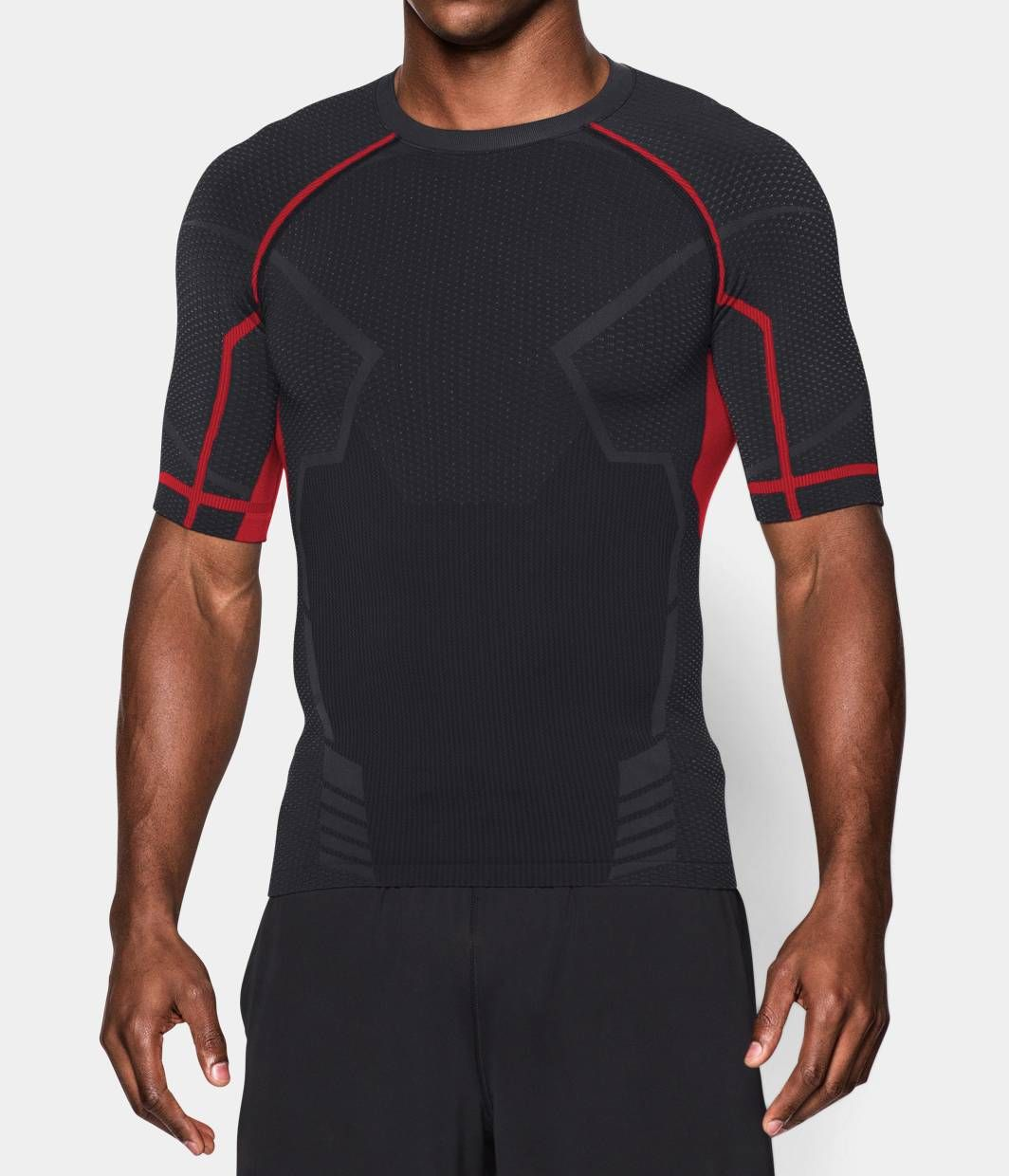 Men's Iron Man UA Seamless Compression Shirt | Under Armour US