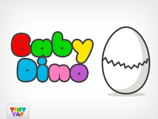 Baby Dino TinyTap Game