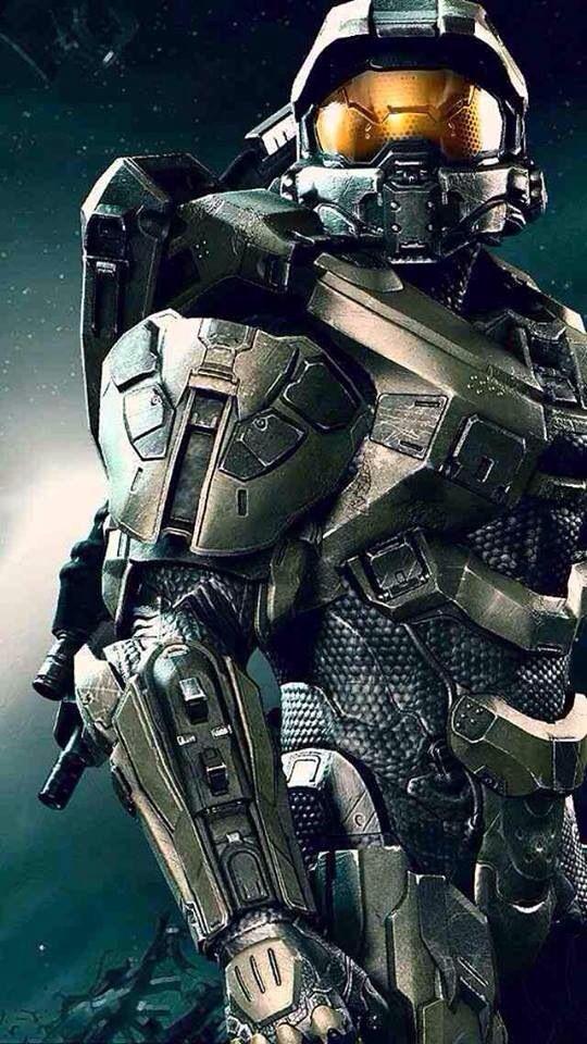 Master Chief (Halo) | Gaming | Pinterest | Videojuegos, Jefe maestro ...