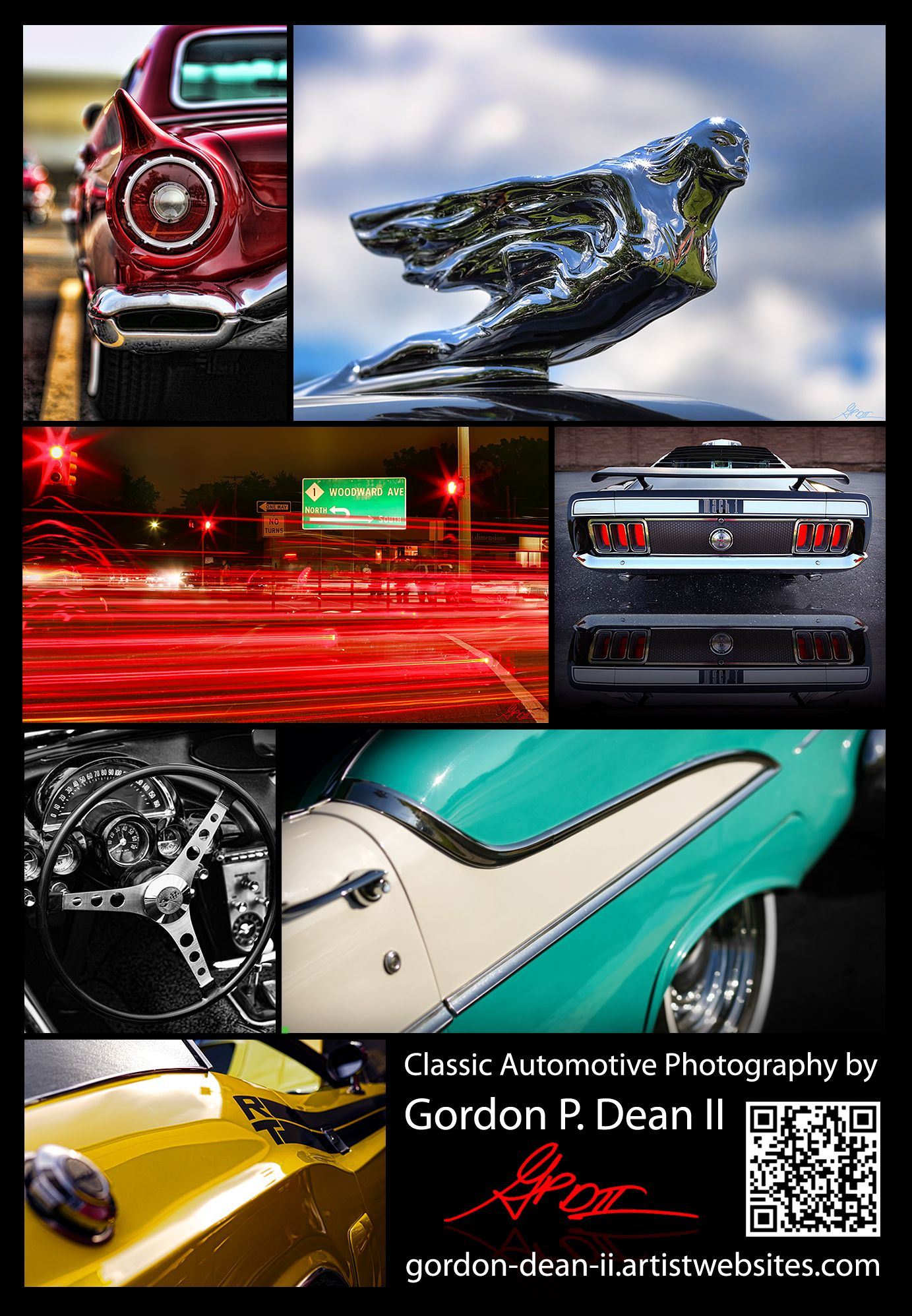 My Business Card - Classic Automotive Photography by Gordon Dean ...