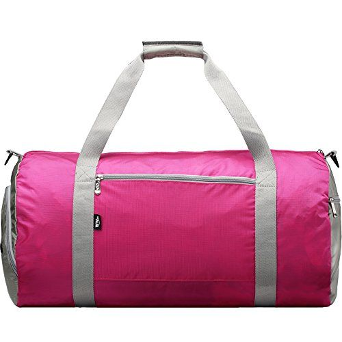 """148e2222848 Gym Bag for Women with Shoe Pocket Compartment- 23"""" Workout Sports Training  Duffel."""