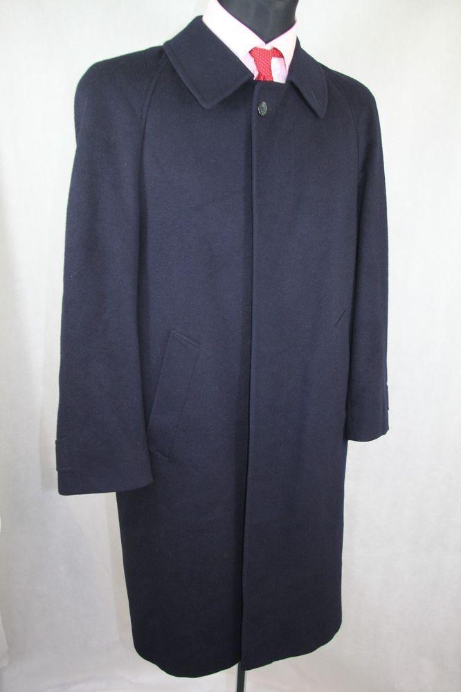 a573c6be1a5 MEN S STEINBOCK HIMALAYA LODEN ALPACA WOOL LONG COAT OVERCOAT UK 36 EUR 46  BLUE  Steinbock  Coat