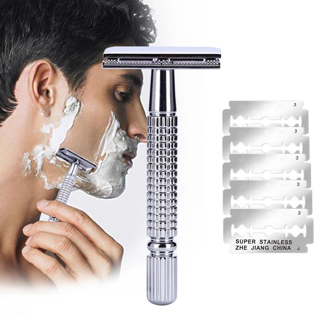 Safety Double Edge Razor For Men Shaving face, Barber