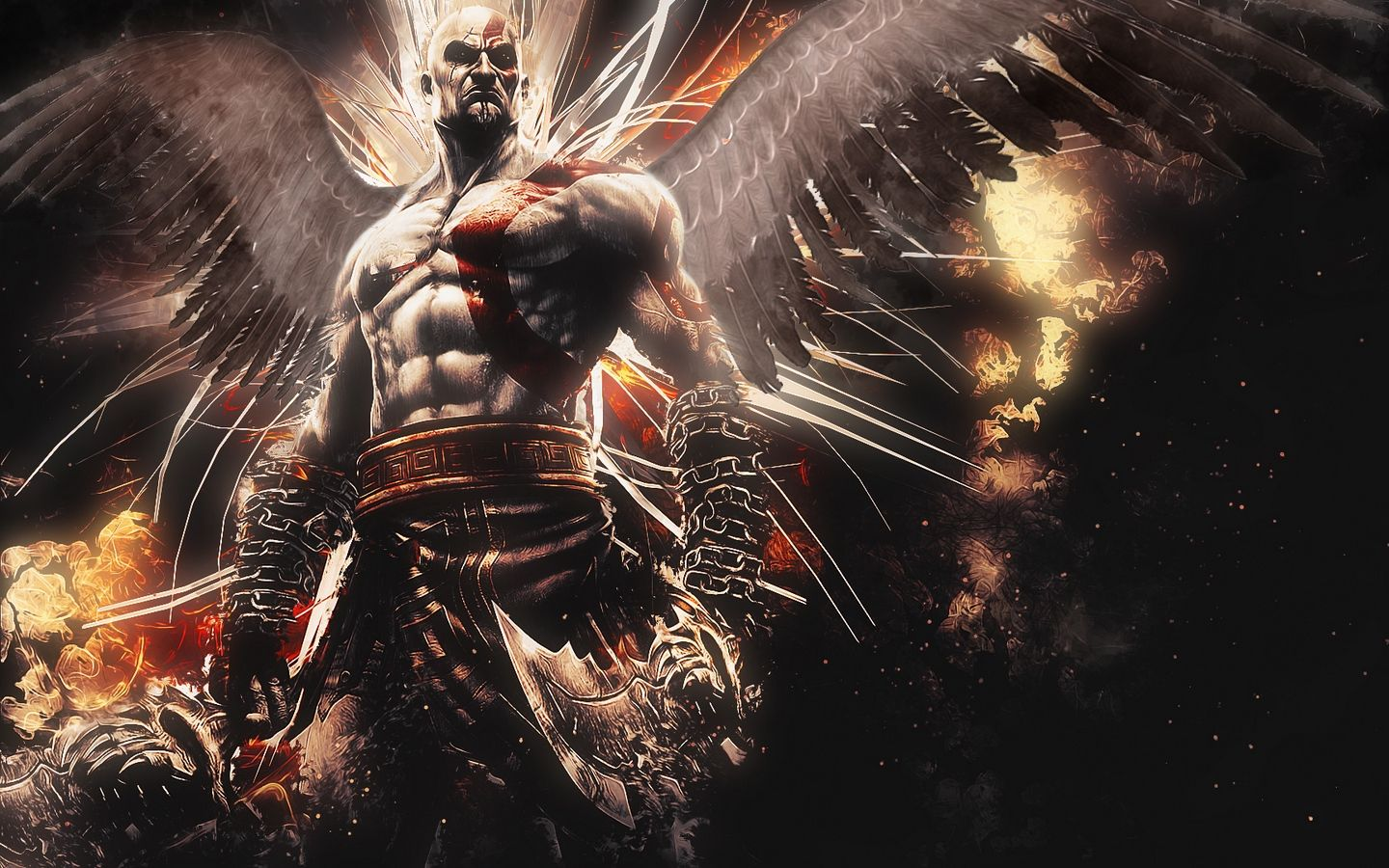 God Of War Wallpaper Desktop Background Firefox Wallpaper Free
