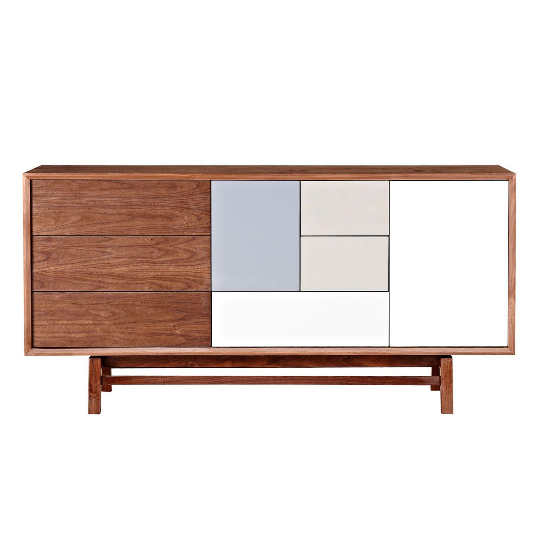 Nye Koncept Modern Grane Sideboard - Walnut - 224413