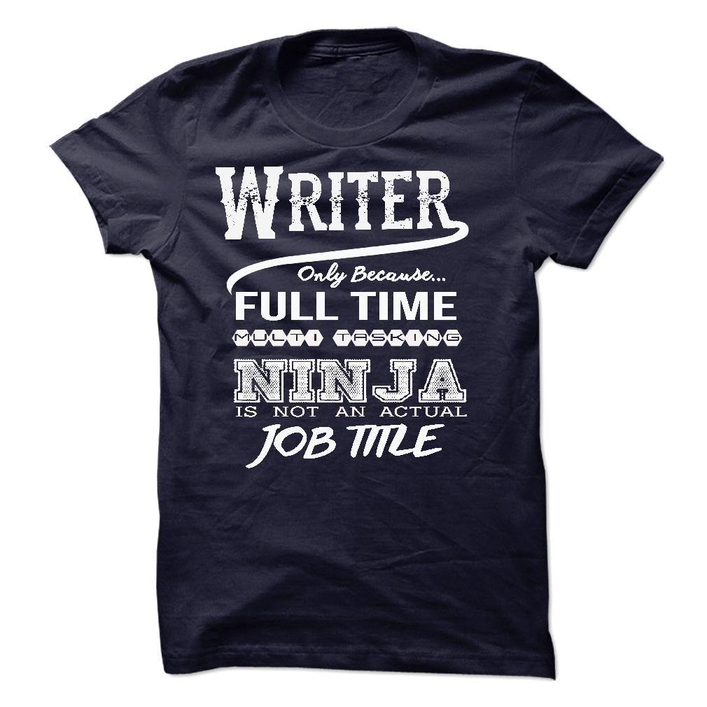 Ninja Writer T-Shirt T Shirt, Hoodie, Sweatshirt
