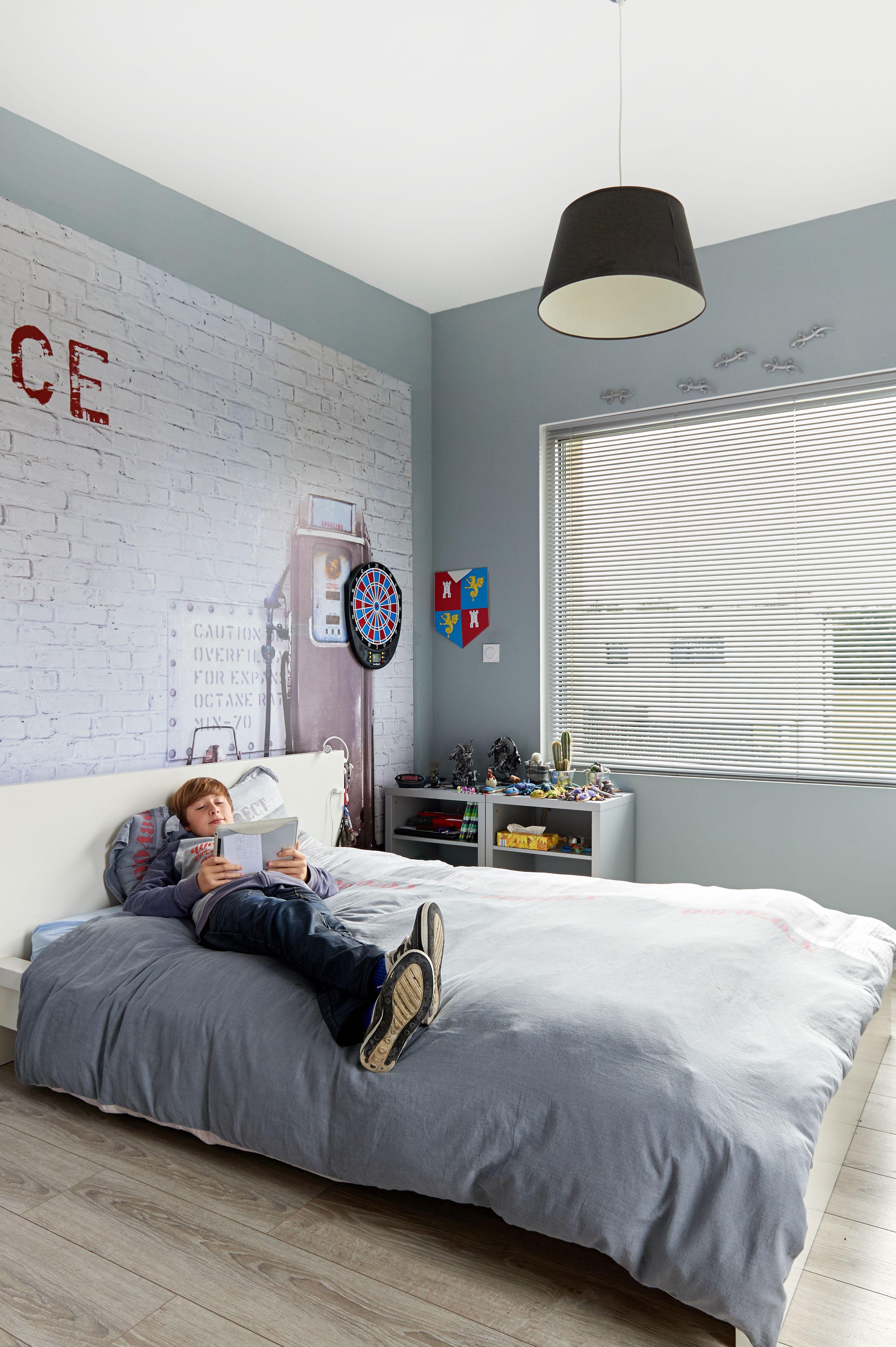 Chambre d adolescent avec fenªtre en aluminium Réalisation de