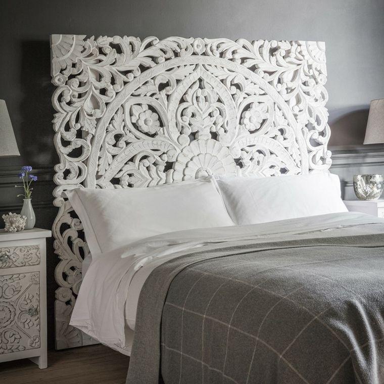 Cabecero de cama original y moderno - ideas y diseños que amarás ...