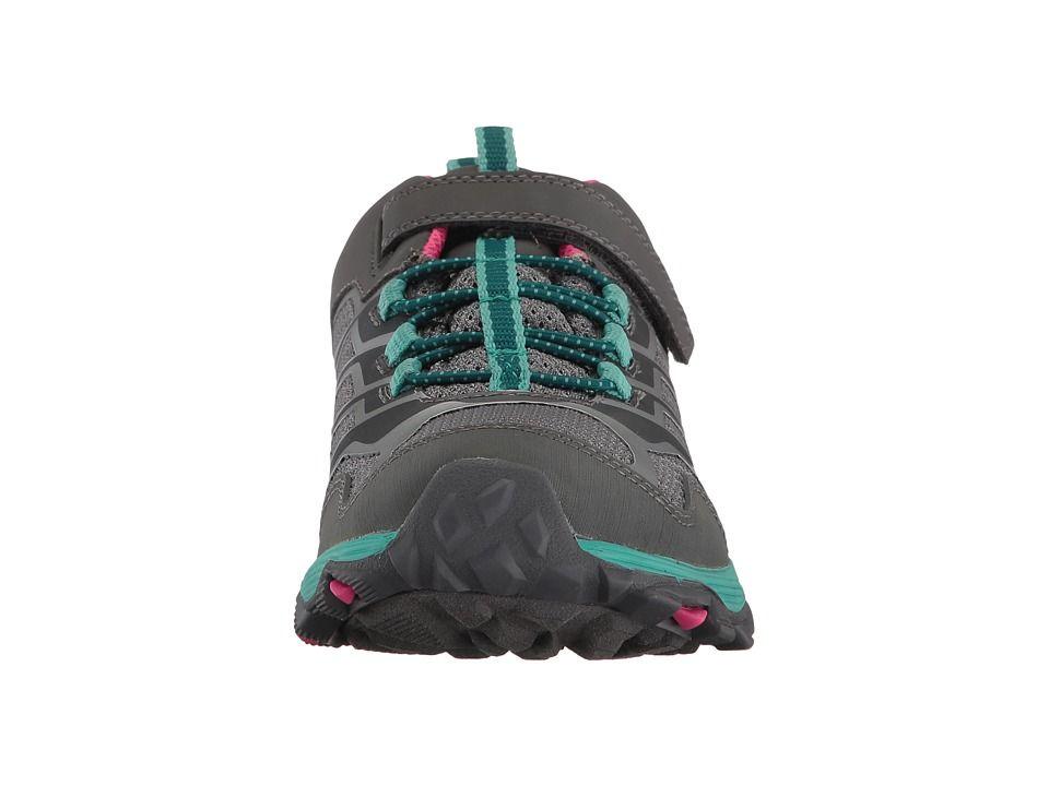 Merrell Moab Big Girls Low Waterproof Grey Multi Sneakers