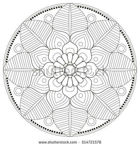 Mandala vector mandala floral mandala flower mandala - Modele de mandala ...