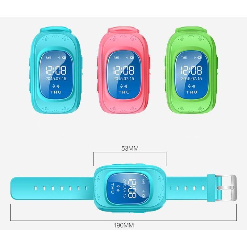 ساعة تتبع أطفال Amank Gps Smart Watch بسعر 1300ج بدل من 1500ج Gps Wrist Watch Gps Watch