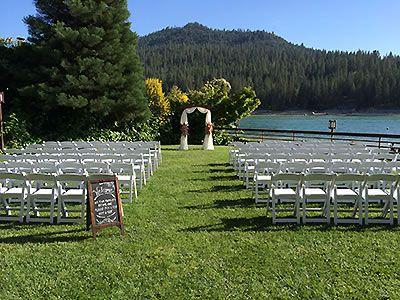 Pines Resort on Bass Lake Central California Weddings Sierra ...
