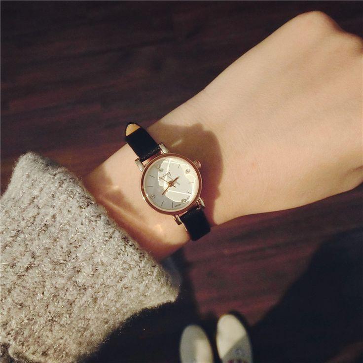 Rose Gold Small Dial Charm Ladies Wristwatches 2016 Luxury Women S Fashion Q 2020 Kadin Saati Kadin Saat Bayan Saatleri