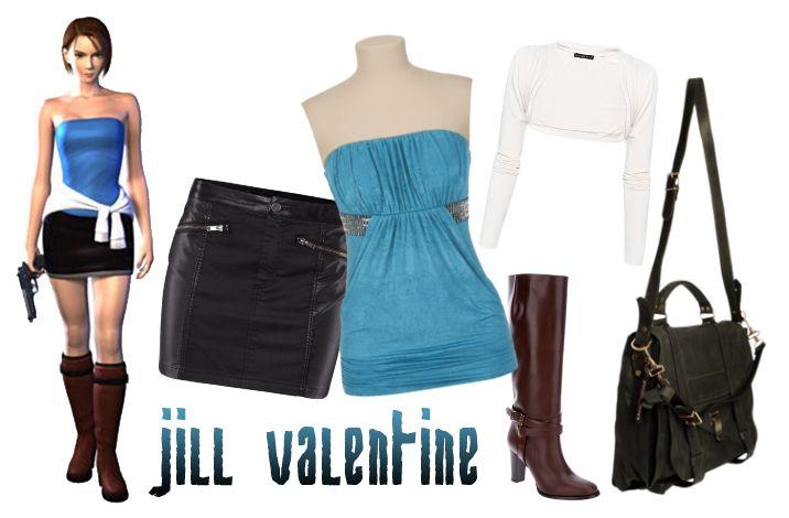 Outfit Jill Valentine Resident Evil 3 Nemesis Jill