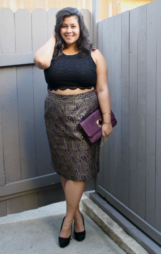 c0cf87eb207 Purple & gold crop top holiday; OOTD | Style inspiration | Crop tops ...