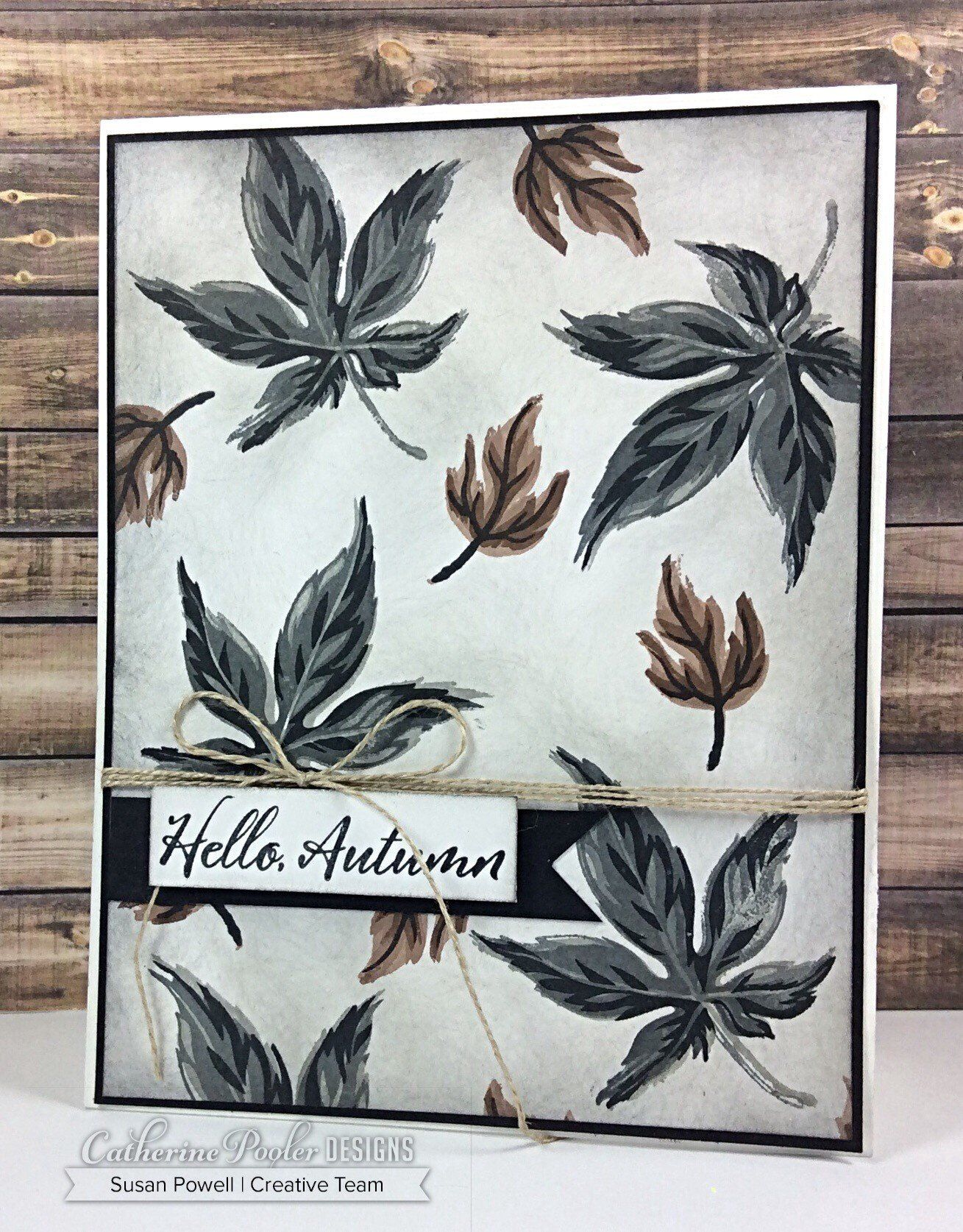 Hello Autumn Stamp Set #helloautumn