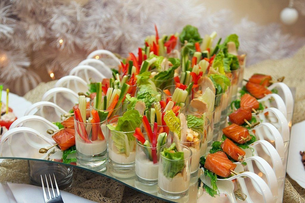 Рецепты салатов на фуршетный стол