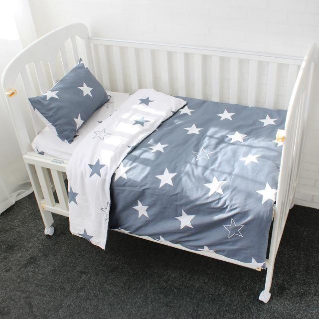 Best 3 Pcs Baby Bedding Set Pure Cotton Bed Linen For Children 400 x 300