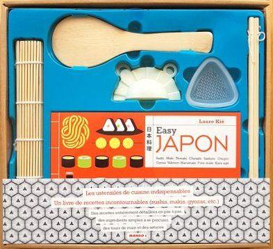 Coffret Cuisine Japonaise Recettes Et Ustensiles Easy