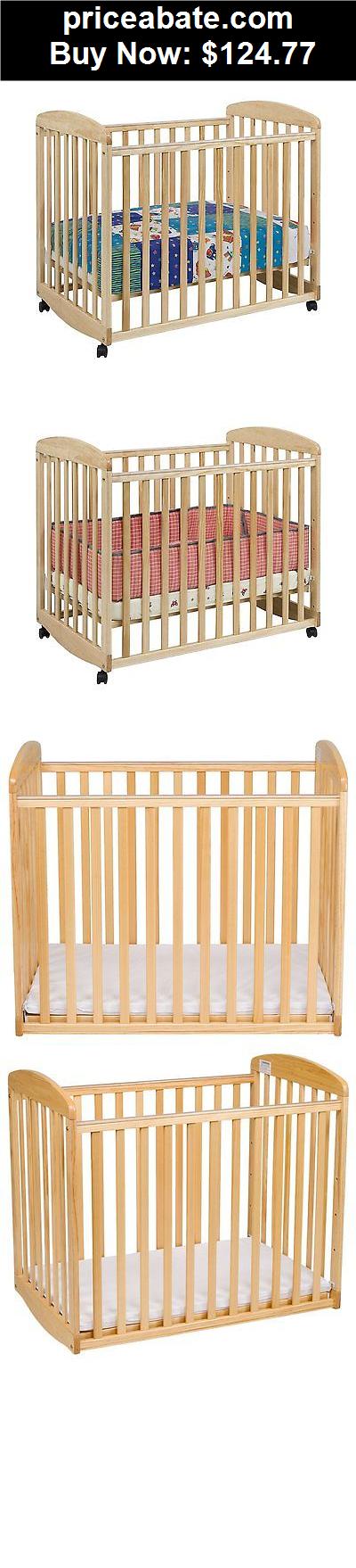 Baby New Davinci Alpha Mini Rocking Crib With 4 Level Mattress