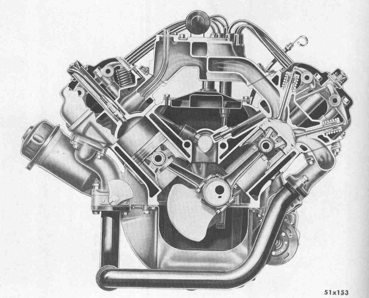 1950s 'double rocker' hemi | mopar syle | mopar | chrysler ... regular vs hemi engine diagram