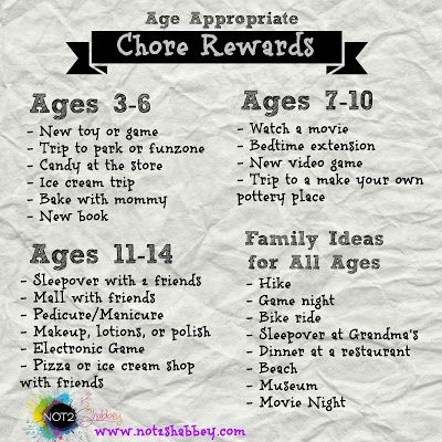 making a reward chart for toddlers