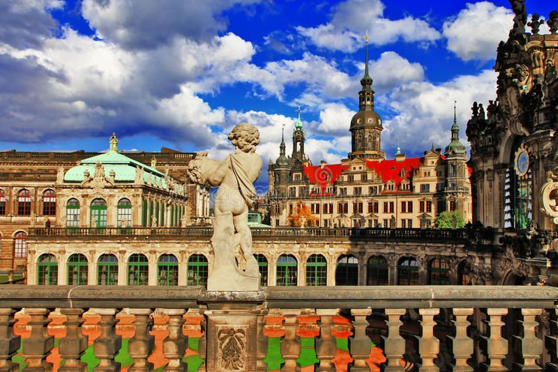 Dresden Germany View From Zwinger Museum Aff Germany Dresden View Museum Zwinger Ad Images Of Summer Germany Stock Images Free