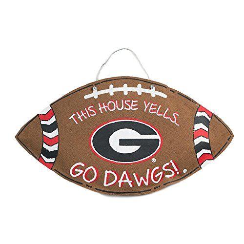 Georgia Bulldogs Burlee Home Decor Wreath Sports Team Acc