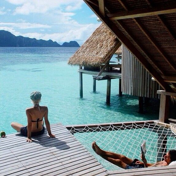 I love the hammock idea off our dock
