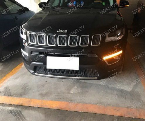Jeep Compass Switchback Led Drl Turn Signals Install Guide Jeep Compass Jeep Led Lights Jeep