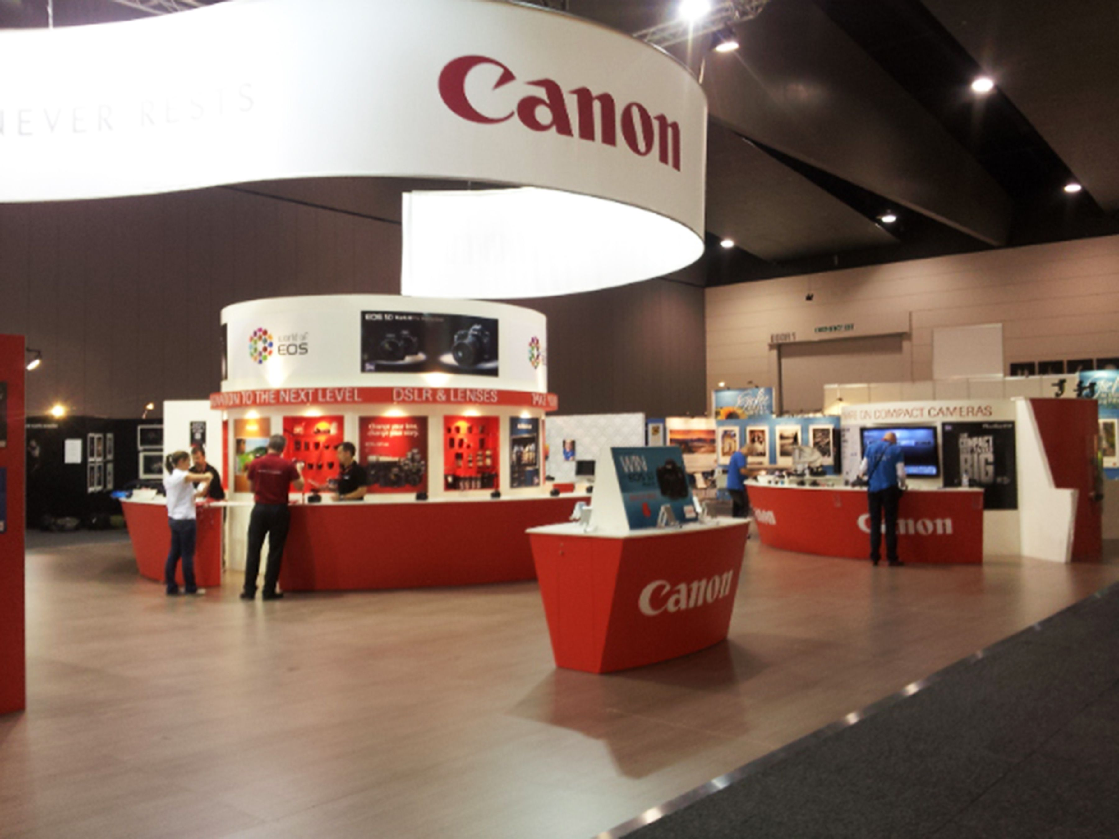 Expo Exhibition Stands Xbox One : Exhibition stand for canon exhibition stands by exhibitionco