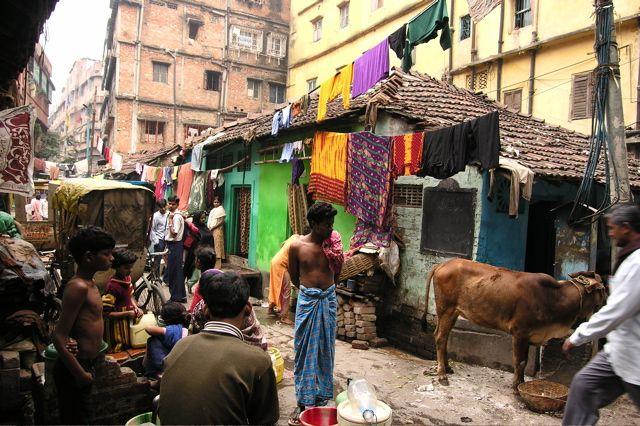 Calcutta Kolkata India Anand Nagar City Of Joy By