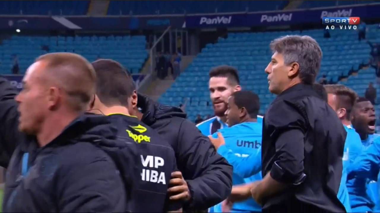 Beautiful finish - Ramiro - Grêmio 1 x 0 Palmeiras