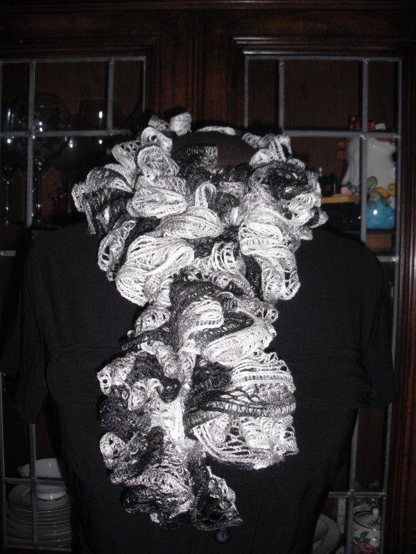 New And Improved Sashay Scarf Pattern Crochet Pinterest Sashay