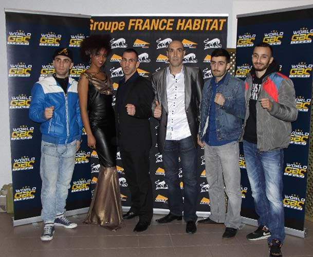 #WorldGBCTour Tournament K-1  #DavidBlanc organisateur World GBC Tour #MohamedHOUMER – #AntonioGOMEZ – #BruceCODRON - #SaitKARAEVLI - 2014 Pernes Vaucluse France Europe