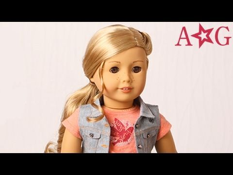 How to Style Tenney's Hair!   Tenney Grant   American Girl - YouTube #dollcare How to Style Tenney's Hair!   Tenney Grant   American Girl - YouTube #americangirlhouse