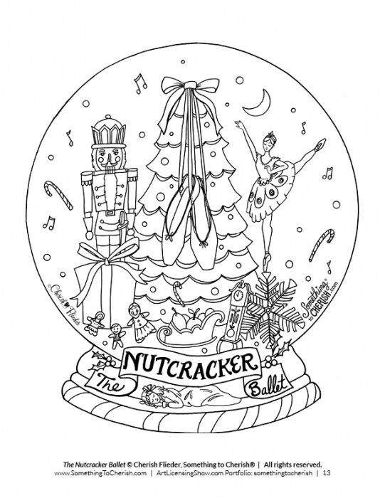 92 Pages of Free Holiday Coloring! | Embroidery ...