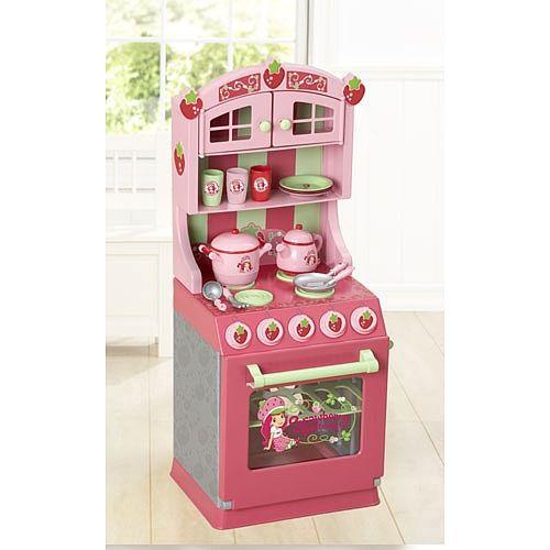 strawberry shortcake  kitchen set  just like home  toys