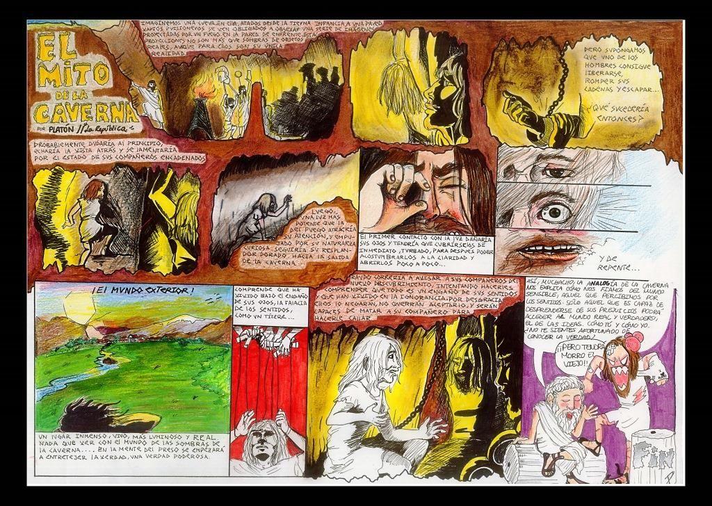 mito de la caverna de platon pdf