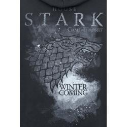 Game Of Thrones House Stark Kapuzenjacke #filmposterdesign