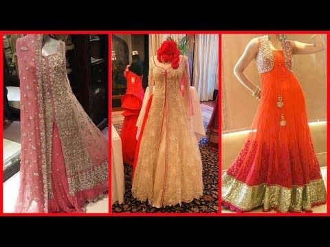 d8c8f439df1 embroidered net shrug design ideas for Lehenga