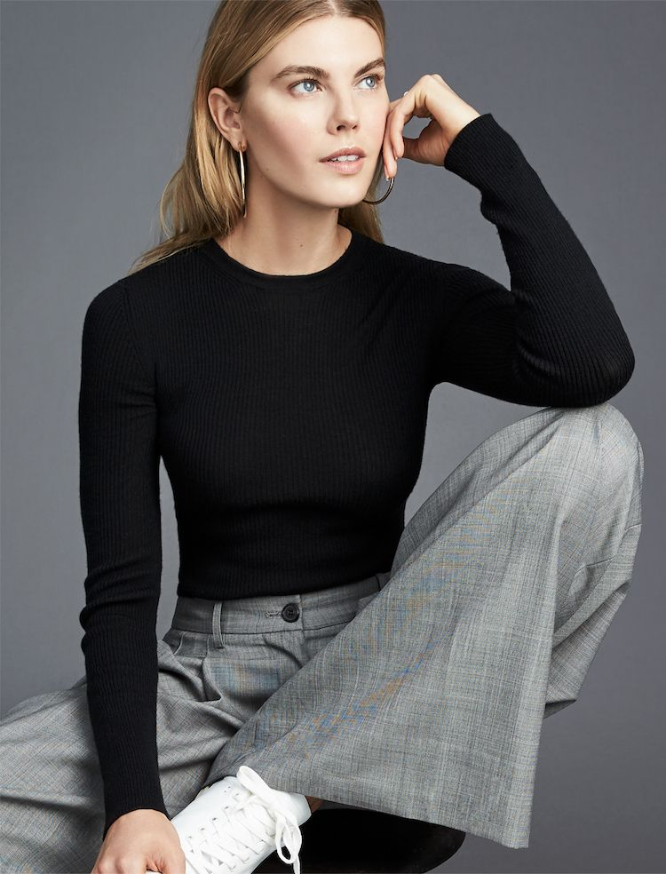 1c8ab054 G. Label Long Sleeve Jenny Ribbed Tee in 2019 | GP's Favorite Things ...