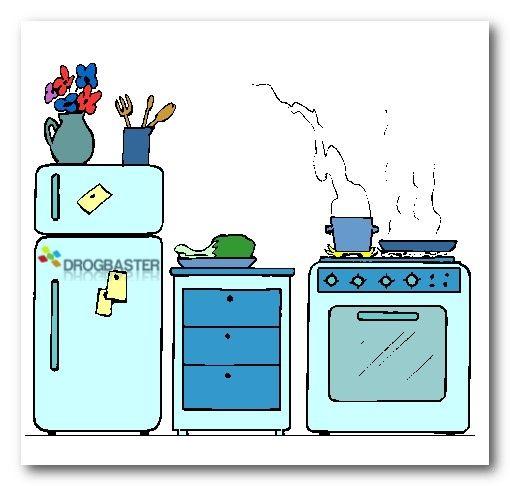 immagine degli oggetti della cucina domestica | fai da te | Bambini ...