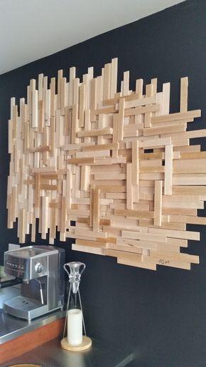 Un diy de déco murale en bois pour moins de 20 déconome