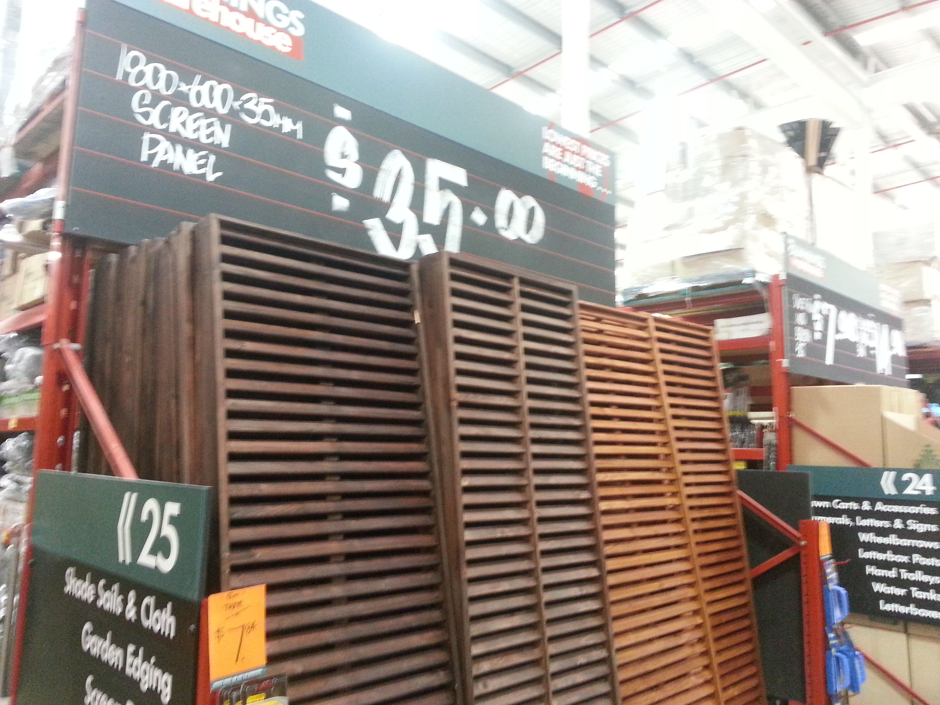 Fake Brick Wall Bunnings Screens 35 Bunnings Balcony Makeover Signs Outdoor Balcony