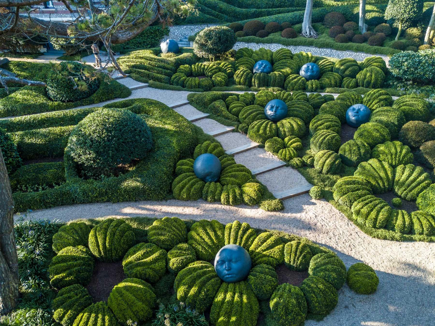 La magie des Jardins d Etretat en Norman Сад