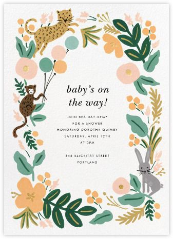 Baby shower invitations - Paperless Post Gregin Baby Shower - baby shower invitation