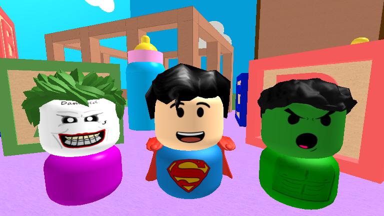 Coloring Pages Roblox : Be a baby super heroes roblox fotos de jogos pinterest fast cash