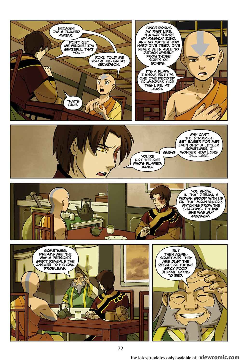 Avatar The Last Airbender The Promise Part 3 2012 Viewcomic Reading Comics O Avatar The Last Airbender The Last Airbender Avatar The Last Airbender Art