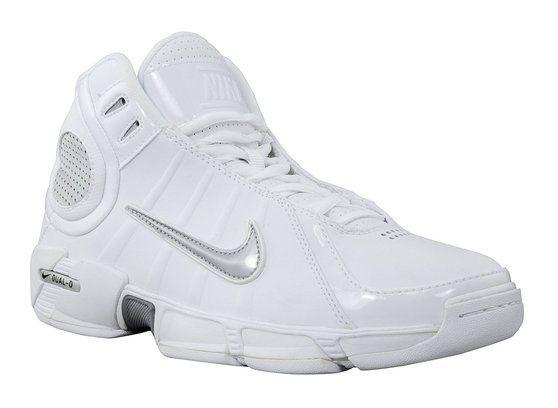 Nike Air Dual D 2k6 Womens Mid Basketball Shoe White/Silver 11 #shoes #